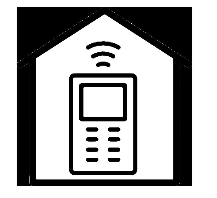 air con wifi remote logo