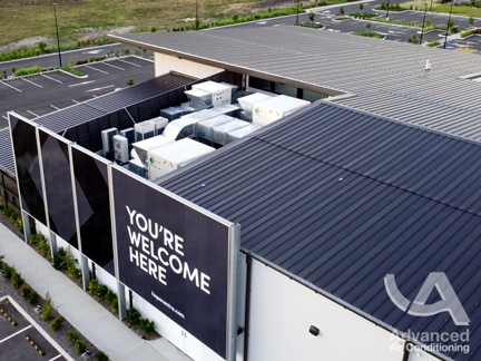 Air Change Commercial Installation Rooftop Package Unit